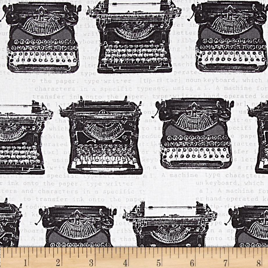 Objects Typewriters White