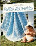 LAR-048 Leisure Arts &quot;Our Best Baby Afghans&quot; Book