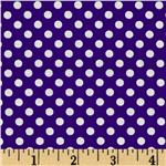 FN-973 Spot On Mini Dots Purple