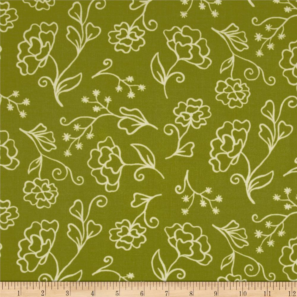 Summer House Floral Green
