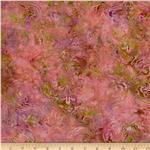 0271577 Bali Batiks Hearts Coral/Green