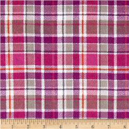 Mad For Plaid Flannel Purple/Pink