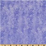 French Twist Faded Posies Periwinkle