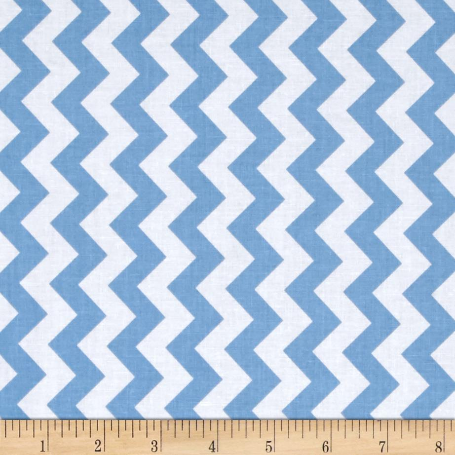 Riley Blake Small Chevron Blue