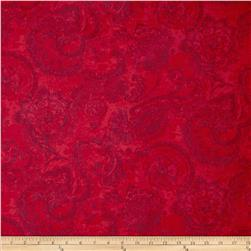 Anna Griffin Mirabelle Collection Gouache Paisley Red