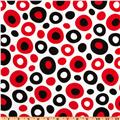 Celebrate Seuss Dot White/ Black/Red