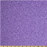 Curiosities Flannel Whirligig Amethyst