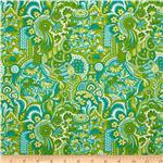 Chinoiserie Prosperity Turquoise