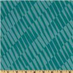 Mackinaw Island Geometric Turquoise Blue