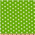 Pimatex Basics Polka Dot Lime/White