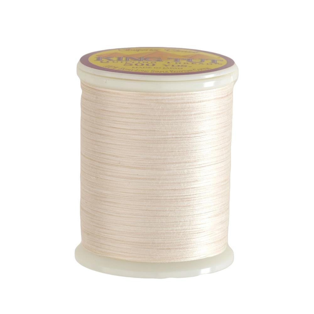 Superior King Tut Cotton Quilting Thread 3-ply 40wt 500yds Alabaster