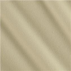 Stretch Velour Cream