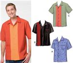 KP-3484 Kwik Sew Men&#39;s Novelty Short Sleeved Shirts Pattern