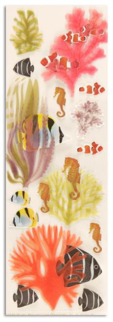 Martha Stewart Crafts Seaweed &amp; Fish Stickers