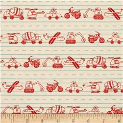 Moda Apple Jack Doodles Ivory