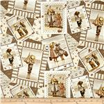 0266132 Friendship By The Sea Postcards Allover Sepia