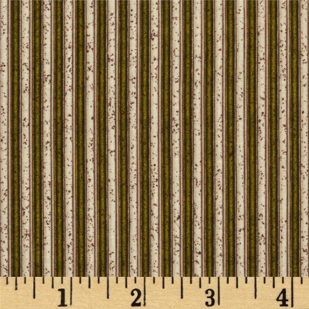Arabesque Stripe Brown