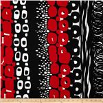 0264603 Black &amp; White Otto Black/Red