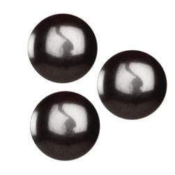 Fashion Button 1/2'' Denver Black