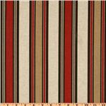 UM-504 Premier Prints Morgan Stripe Tabasco/Oatmeal