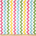 FT-366 Riley Blake Chevron Medium Pink/Girl