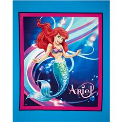 Disney Little Mermaid Panel Blue