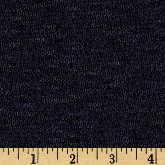 Designer Cozy Sweater Knit Indigo