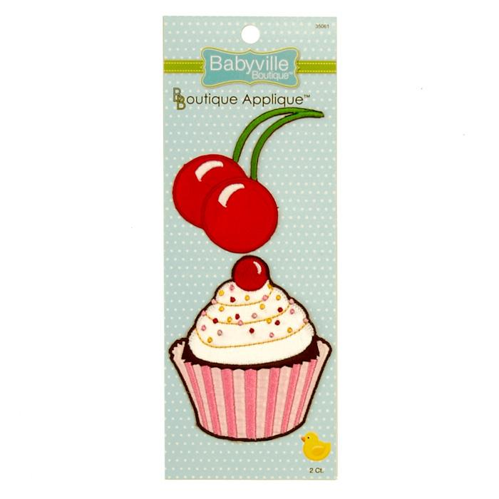 Babyville Boutique Appliques Cupcake