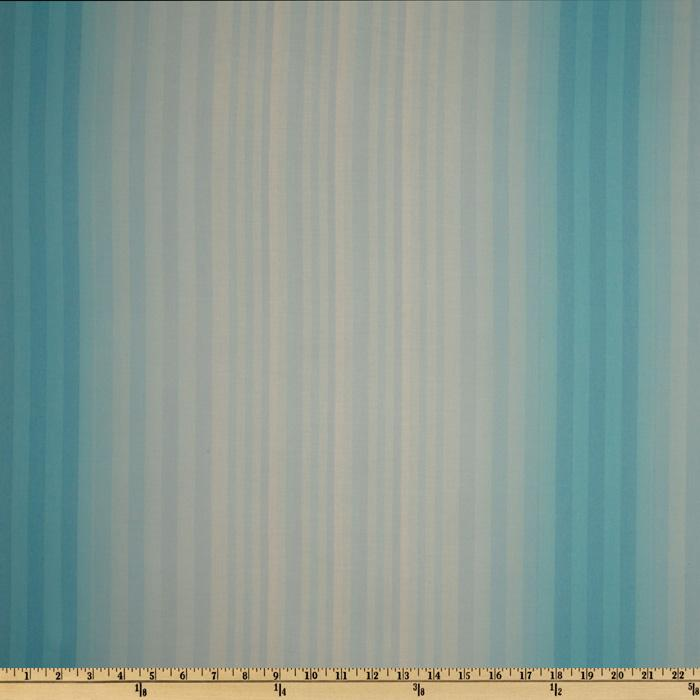 Moda Coquette Watercolor Stripe Aqua