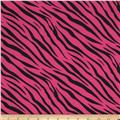 Poly Poplin Zebra Hot Pink/Black