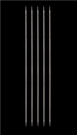 HiyaHiya Steel 8'' Double Pointed Knitting Needles US 6 (4mm)