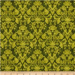 Autumn Festival Damask Green