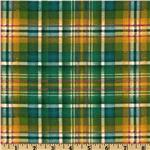 FJ-431 Splendid Holiday Plaid Green
