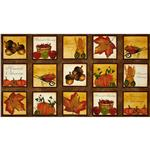 Beauty of Autumn Sampler Panel Multi