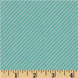 Curiosities Diagonal Stripe Aqua/Sea