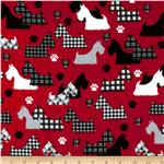 0269694 Great Scotts Flannel Scotties Red