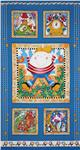 FS-124 Story Time Rhymes Humpty Dumpty Panel Blue