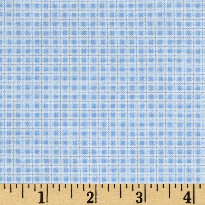 Garden Tales Gingham Blue