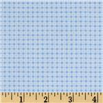 224780 Garden Tales Gingham Blue