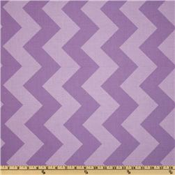 Riley Blake Chevron Large Tonal Lavender