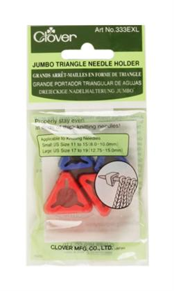 Clover Jumbo Triangle Needle Holder, 4/pkg