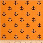 0267515 All Hands On Deck - Anchors Orange