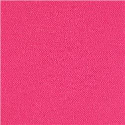 Cotton Micro Pique Hot Pink