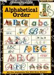Leisure Arts ''Alphabetical Order'' Cross Stitch Book