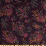 0271052 Jonquil Shirting Floral Purple/Pink