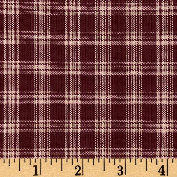 Homespun Basics Plaid Red/Natural