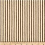 44&quot; Ticking Stripe Potting Soil Brown