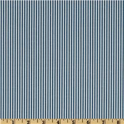 Magnolia Home Fashions Ticking Stripe Sailor Blue