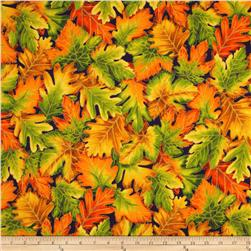 Shades of the Season 6 Metallic Autumn Leaves Large Jewel Purple