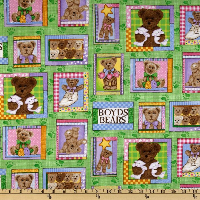 Boyds Bears Bear Patch Multi
